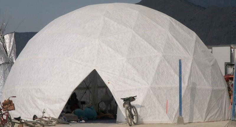 Tyvek Dome